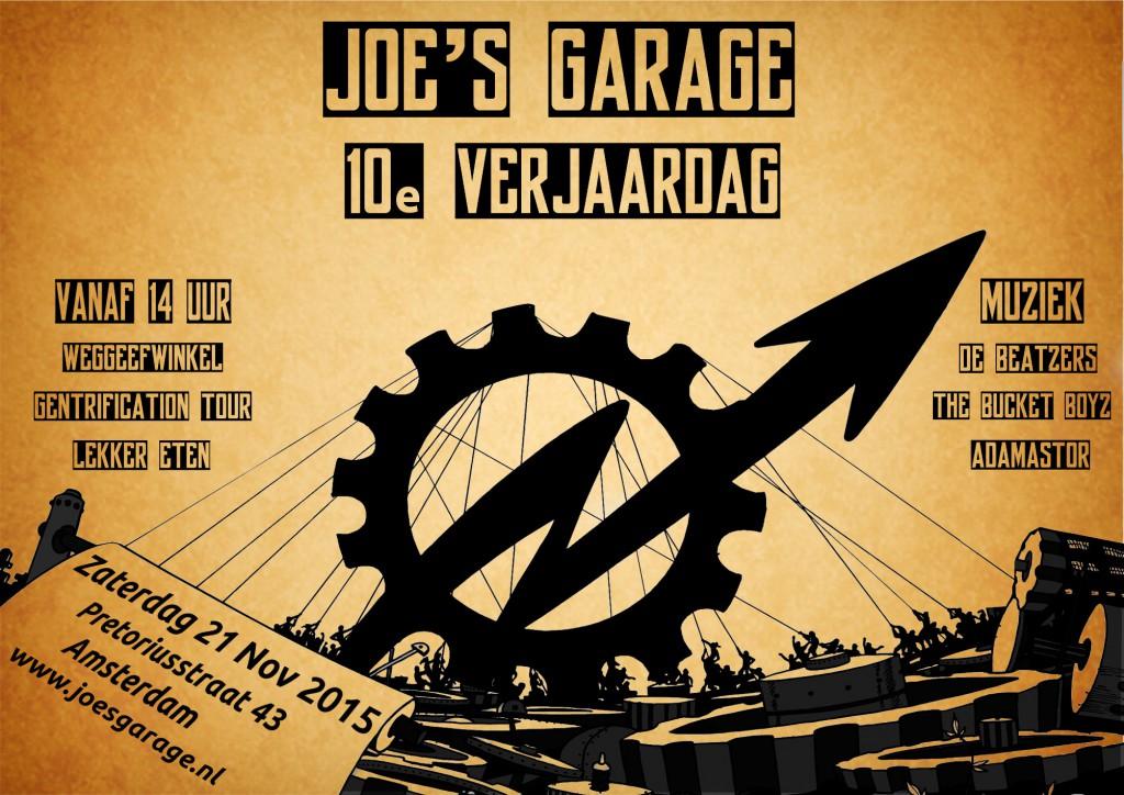 Joes Garage Amsterdam : Amsterdam: 10 jahre joes garage « contra info
